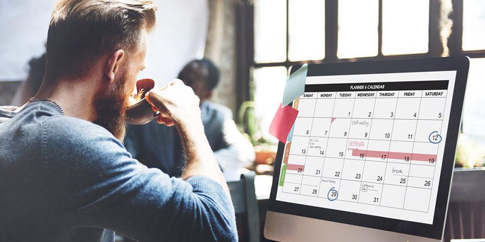 Dicas de organização: Adapte sua agenda