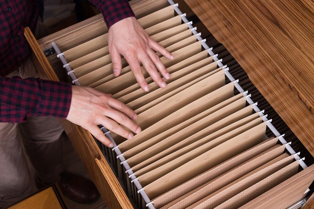 Tenha um arquivo para facilitar a organização profissional