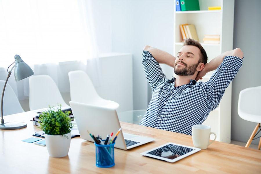 O descanso aumenta a produtividade no trabalho